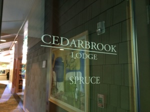 Cedarbrook door