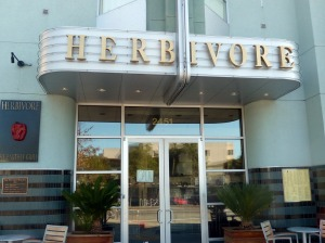 Herbivore outside