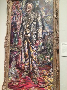 Ivan Albright, Picture of Dorian Gray, 1943-1944 (painted for the 1945 movie adaptation)