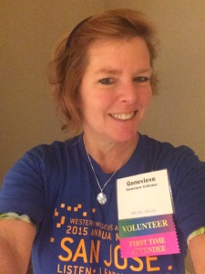 Your friendly conference volunteer