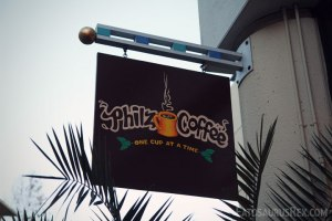 Philz in San Jose; when you see a Philz, you gotta stop!