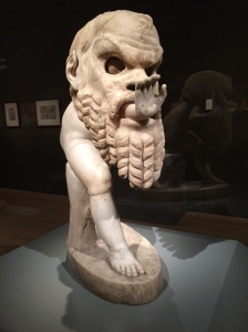 Statue of a Young Satyr Wearing a Theater Mask of Silenos, Roman, 1st century AD