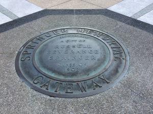 Springer Memorial Gateway.