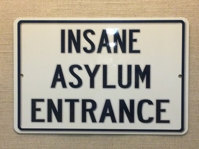 Insane Asylum Entrance