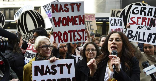 national-organization-women-protest-trump-tower