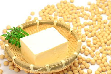 tofu and soybean