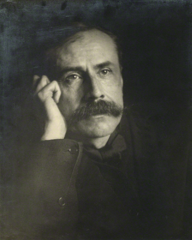 NPG x11894; Sir Edward Elgar, Bt by Charles Frederick Grindrod