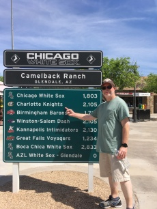 Camelback road sign