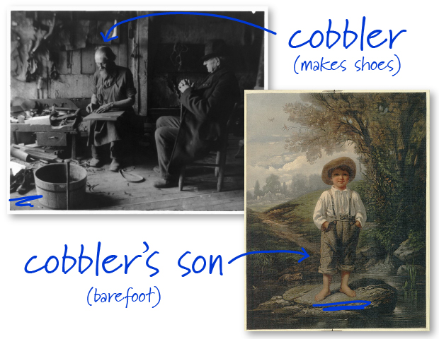 cobbler-and-barefoot-boy