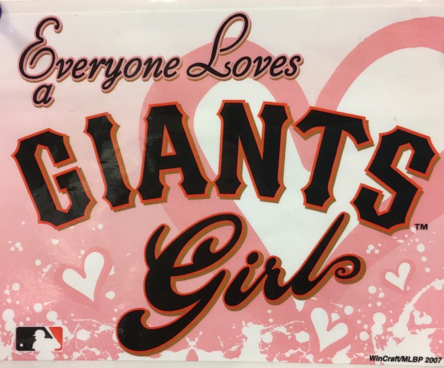 Giants girl