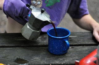camping espresso