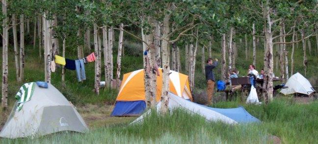 lotsa tents