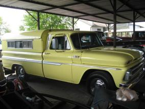 old gmc camper