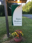 shaker meadows sign
