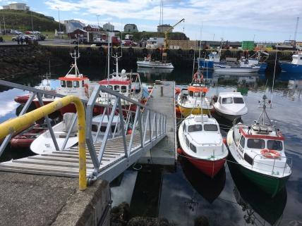 Iceland boats