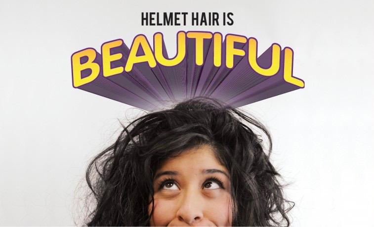 helmet hair 2