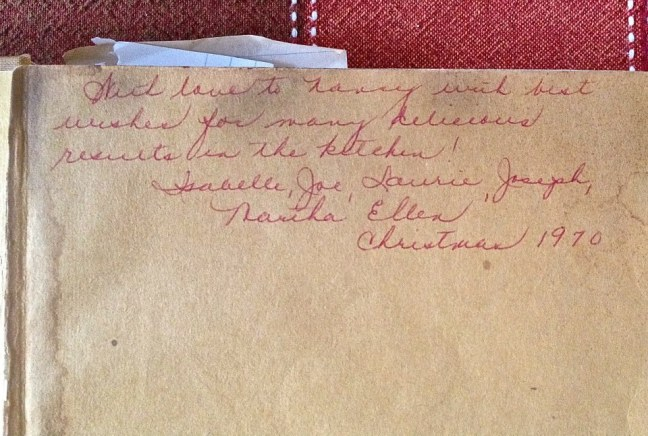 Noted Cookery signed