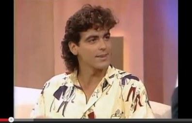 Clooney mullet