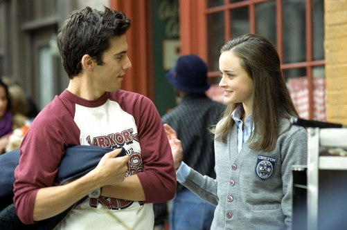 GILMORE GIRLS, Milo Ventimiglia, Alexis Bledel, 'Lorelai's Graduation Day', (Season 2), 2000-2007, p