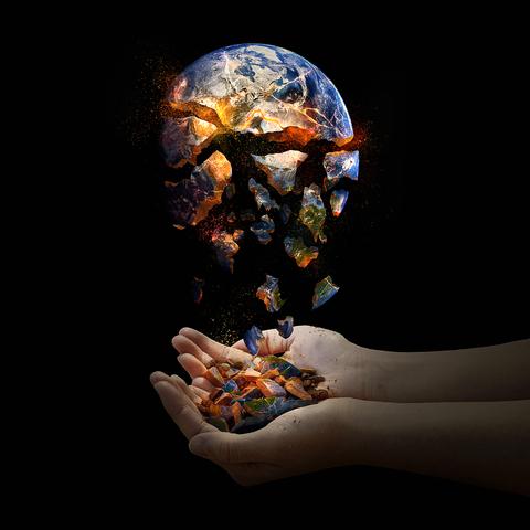 world falling apart